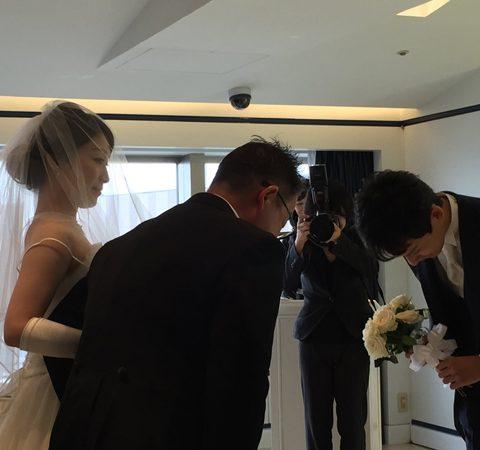 Lisa嫁ぎました