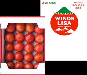 ウインズ・リサトマト 4kg箱